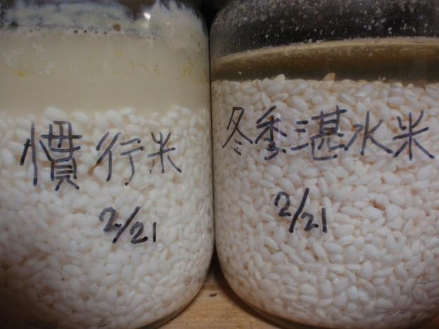 お米 腐敗