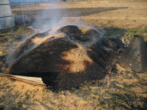 籾殻 くん炭